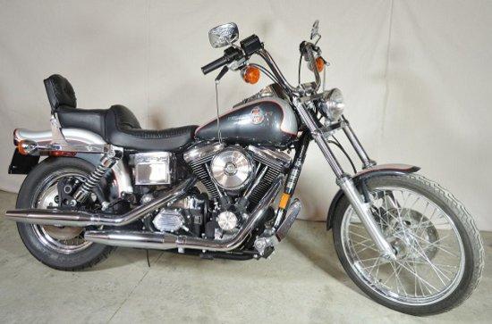 1993 Harley-Davidson FXDWG, #1 Sold to Public, VIN# 1HD1GEL16PY306146