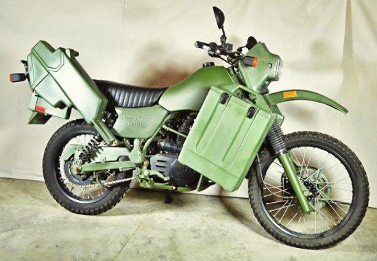 1997 Harley-Davidson MT500 Military Bike - Brand New, VIN# 1HD4RLS13VY000001
