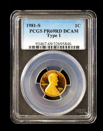 1981 S LINCOLN CENT **TYPE 1**    Auctions Online | Proxibid