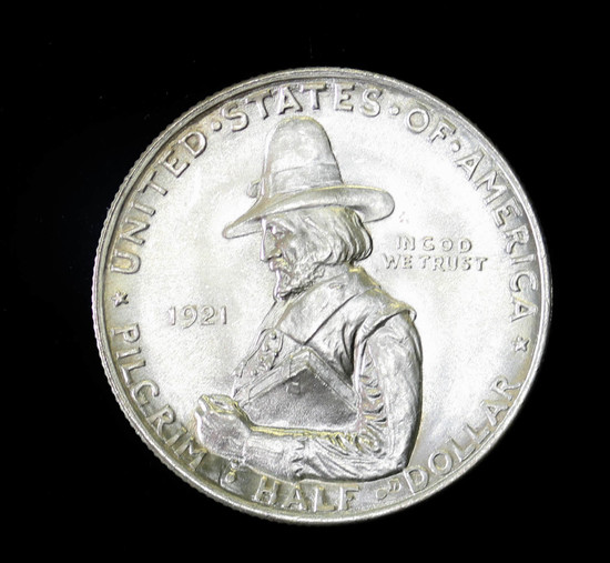 1921 PILGRIM SILVER COIN OLD U    Auctions Online   Proxibid