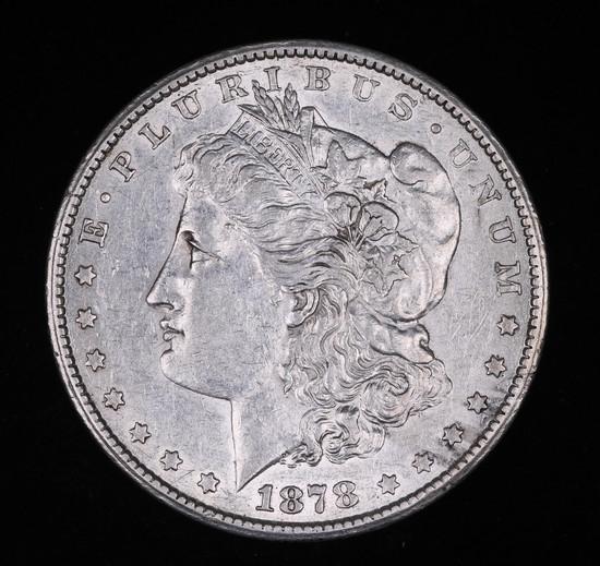 1878 CC MORGAN SILVER DOLLAR COIN VERY HIGH GRADE!!!