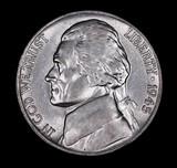 1945 P JEFFERSON NICKEL COIN