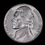 1945 D JEFFERSON NICKEL COIN