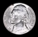 1945 S JEFFERSON NICKEL COIN
