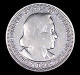1892 COLUMBUS EXPO SILVER COMMEMORATIVE HALF DOLLAR COIN