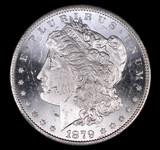 1879 S MORGAN SILVER DOLLAR COIN GEM BU UNC MS+++