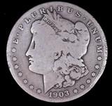 1903 S MORGAN SILVER DOLLAR COIN