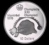 1976 $10 CANADA PROOF SILVER DOLLAR COIN