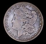1882 S MORGAN SILVER DOLLAR COIN