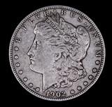 1902 MORGAN SILVER DOLLAR COIN