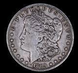 1889 O MORGAN SILVER DOLLAR COIN