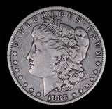 1888 O MORGAN SILVER DOLLAR COIN