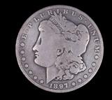 1897 S MORGAN SILVER DOLLAR COIN