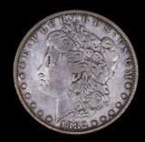 1882 MORGAN SILVER DOLLAR COIN