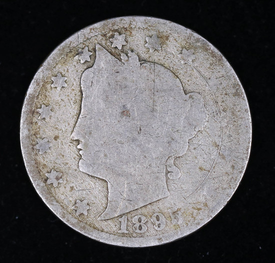 1895 LIBERTY V NICKEL COIN