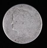 1887 LIBERTY V NICKEL COIN