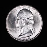 1939 D WASHINGTON SILVER QUARTER DOLLAR COIN GEM BU UNC MS+++