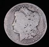 1890 O MORGAN SILVER DOLLAR COIN