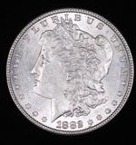 1882 MORGAN SILVER DOLLAR COIN GEM BU UNC MS+++