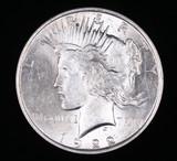1922 PEACE SILVER DOLLAR COIN GEM BU UNC MS+++