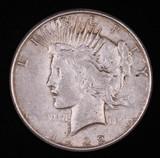 1922 S PEACE SILVER DOLLAR COIN