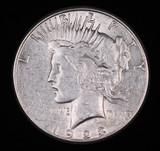 1923 S PEACE SILVER DOLLAR COIN