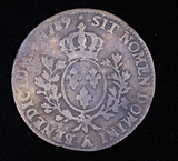 1759 FRANCE COPPER COIN