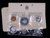 1964 CANADA PL SILVER SET COINS