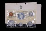 1965 CANADA PL SILVER SET COINS