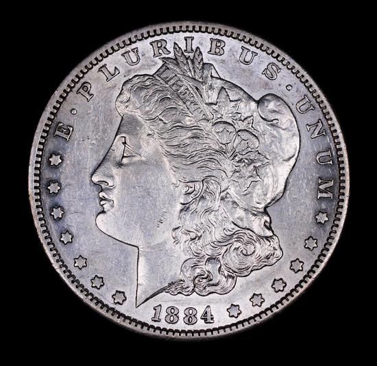 1884 S MORGAN SILVER DOLLAR COIN VERY HIGH GRADE!!