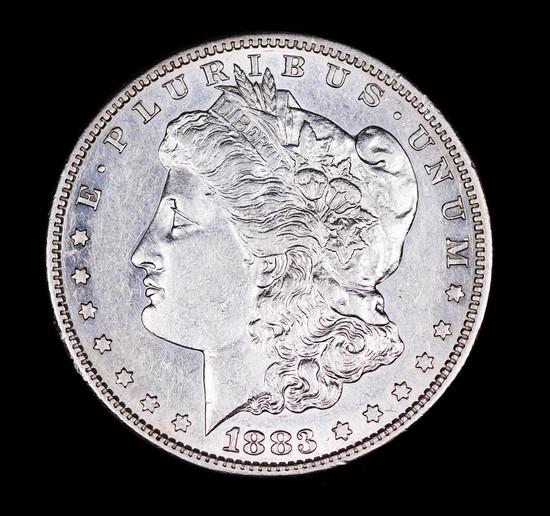 1883 S MORGAN SILVER DOLLAR COIN GEM BU UNC MS+++