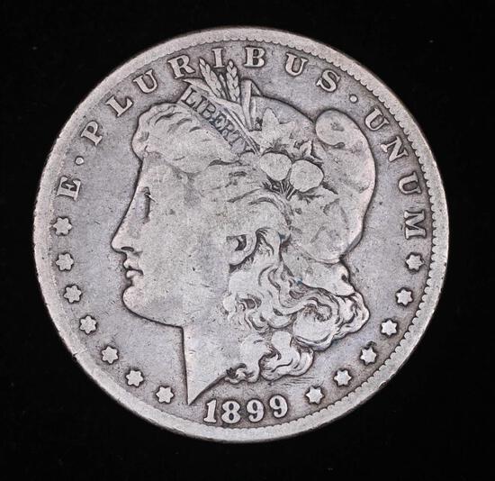 1899 O MORGAN SILVER DOLLAR COIN