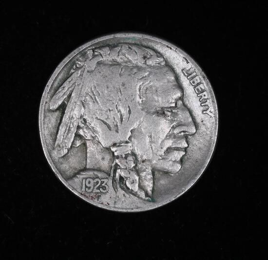 1923 BUFFALO HEAD NICKEL COIN