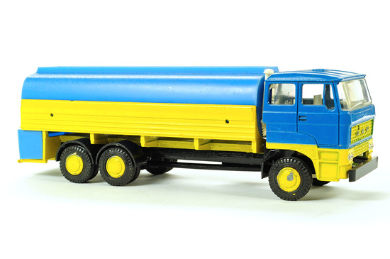 DAF Tanker Truck - Blue/Yellow