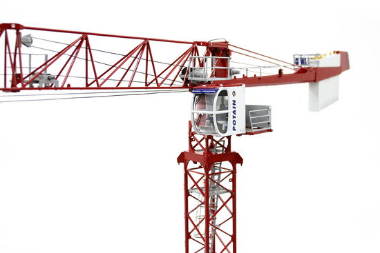 Potain MDT 178 Tower Crane w/Climbing Cage - Red
