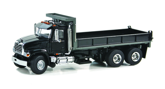 Mack Granite Flatbed Truck - Black