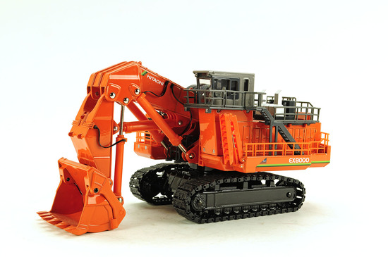 Hitachi EX8000 Mining Shovel