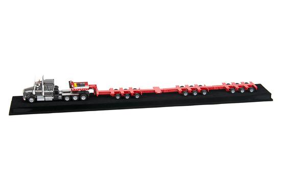 Kenworth T800 w/3x3x3 Scheuerle Trailer