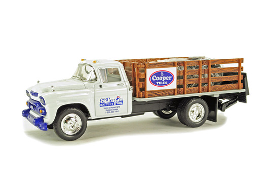 GMC 1958 Stake Truck - St. Lucie Battery
