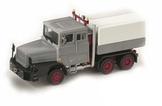 Faun 1206 Heavy Oilfield Truck - Gray