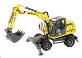 Atlas 140W Wheeled Excavator - Bleck & Sohne