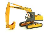 Case 980B Excavator