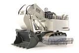 Liebherr 996 White Shovel