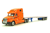 Freightliner Century w/Custom East 3-Axle Flatbed