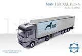 MAN TGX XXL Euro 6 Evo w/3-Axle Semi Trailer