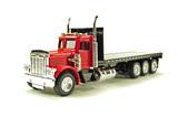 Peterbilt 379 Tri-Axle Flatbed Truck