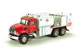 Mack Granite Fuel and Lube Truck - Red/White - Sample Model