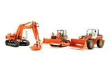 Fiat-Hitachi 3 Piece Set - Excavator/Loader/Dozer