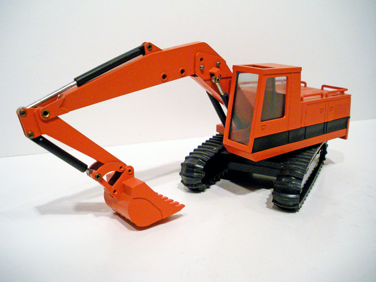 Caterpillar 215 Excavator - Red Version