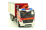Mercedes Actros 3-Axle w/Roll-Off and Crane - Feuerwehr